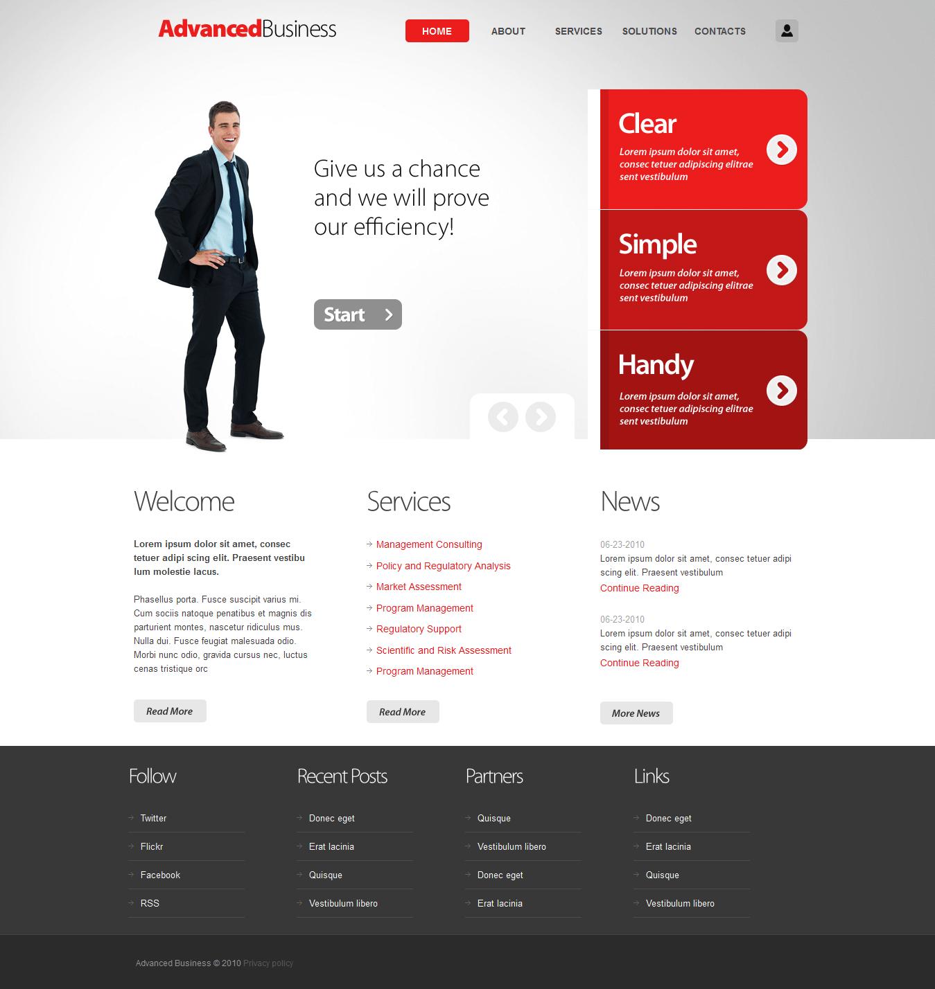 Дизайн сайта 163