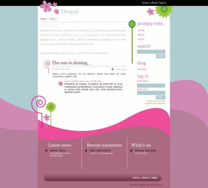 Дизайн сайта 23