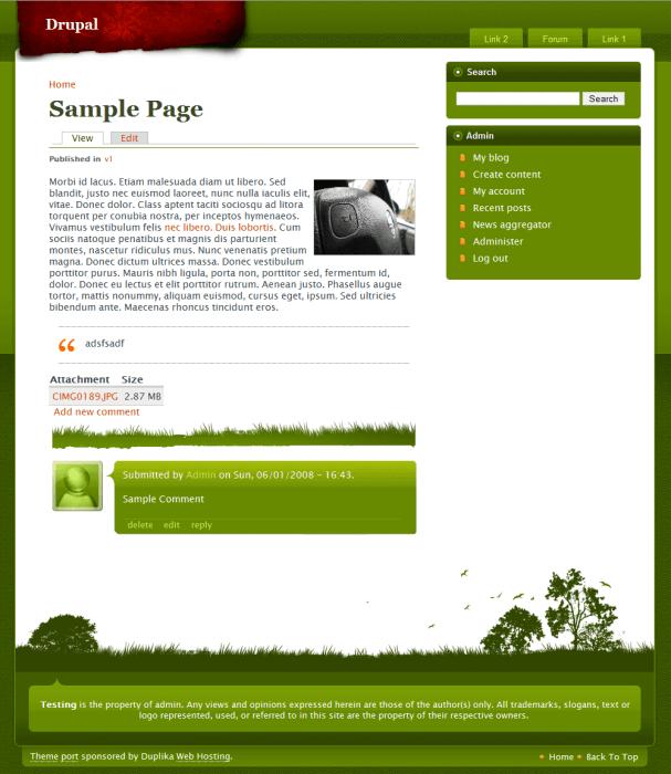 Дизайн сайта 8