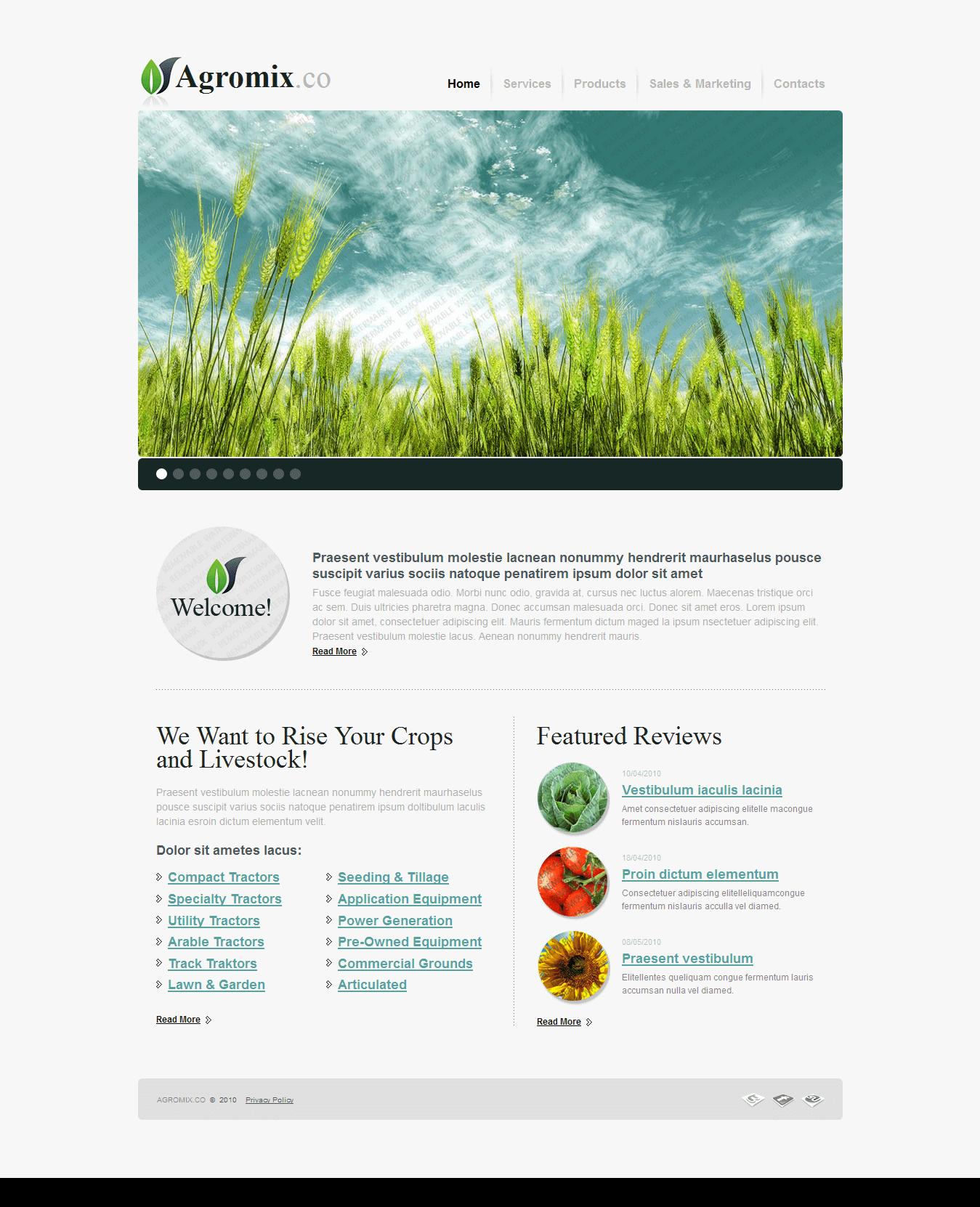 Дизайн сайта 200